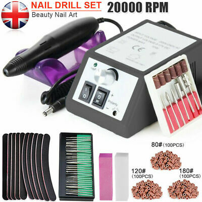 Electric Nail Art File Drill Manicure Set Pedicure Machine Hand Foot Treatment