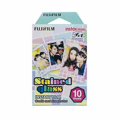 10 Sheets Fujifilm Fuji Instax  Stained Glass Film For Mini 8 7 9 50s 7s 90 SP-1