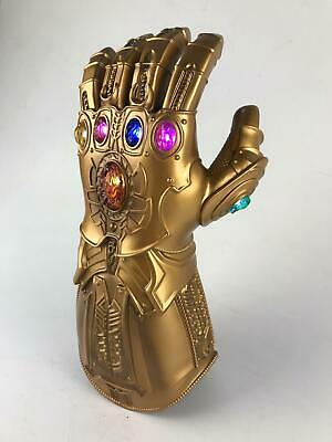 Avengers 4 Infinity War Infinity Gauntlet LED Light Thanos Gloves Cosplay Props
