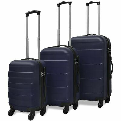 3x Luggage Set Light Suitcase ABS Trolley Hard Case Travel Trip Multi Color L1A9