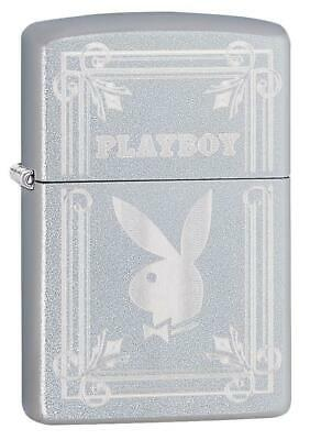 Zippo Windproof Playboy Lighter With Engraved Playboy Bunny, 49006, New In Box