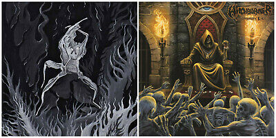 FRONT BEAST - Demon Ways Of Sorcery CD + WITCHBURNER - Bloodthirsty Eyes CD