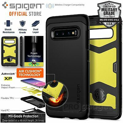 Galaxy S10 Plus Case Genuine Spigen Shock proof Tough Armor XP Cover for Samsung