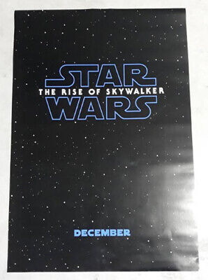 ORIGINAL Star Wars: The Rise of Skywalker movie 1sheet DS POSTER double 2 sided