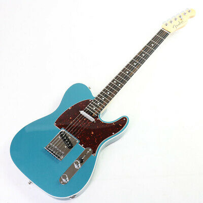 Fender USA American Elite Telecaster Rosewood Ocean Turquoise Ebony Made in USA