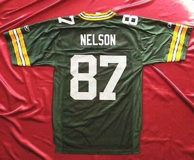b2204743698 Green Bay Packers 87 Jordy Nelson NFL Equipment On Field Players mens S  jersey