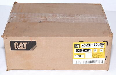 Caterpillar CAT 5306281 Solenoid Valve Assembly *NEW Sealed *