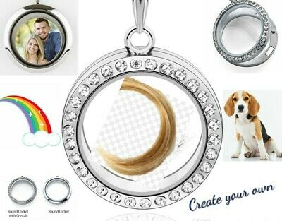 Your Life Was A Blessing Your Memory Is A Treasure - Dog & Heart FLOATING LOCKET