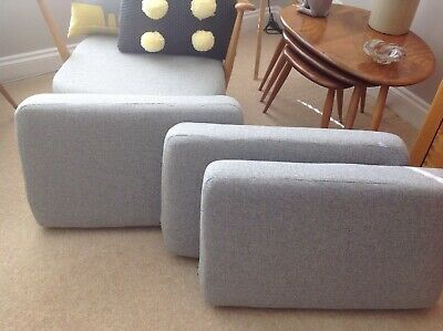 Ercol Studio Couch Replacement Back Cushions
