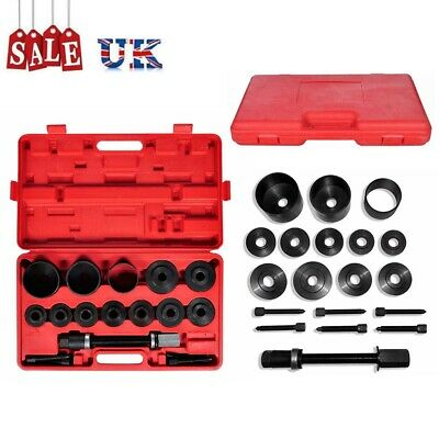 20Pcs Front Wheel Bearing Removal Tool Kit Universal Press Pull Heavy Duty