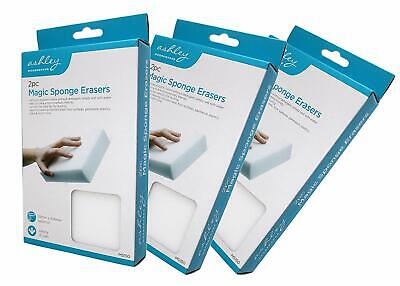 Set of 6 Magic Cleaning Sponge/Eraser Large Size Eco-Friendly Clean No Chemicals