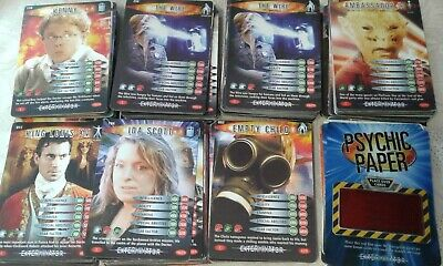 Doctor Who Trading Cards - Exterminator series - over 200 mixed cards