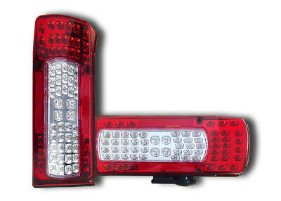 2 x LED TAIL LIGHTS REAR LAMPS TRUCK VOLVO FH12 FM12 FH16 OEM 21097447 20910229