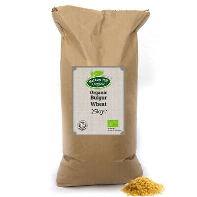 Organic Bulgur (Bulgar, Cracked Wheat) 25kg Certified Organic