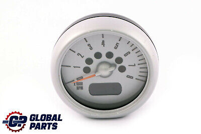 BMW MINI Cooper R50 R52 R53 Tachometer Gauge Revolution Counter Chrome