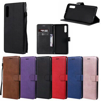 For Samsung Galaxy A70 A40 Leather Wallet Card Holder Flip Pouch Cover Case New