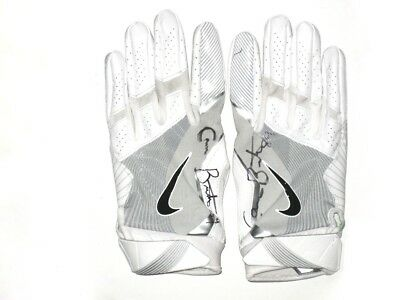 af82e73d ADAM HUMPHRIES AUTOGRAPHED signed Game Used Gloves Tampa Bay ...