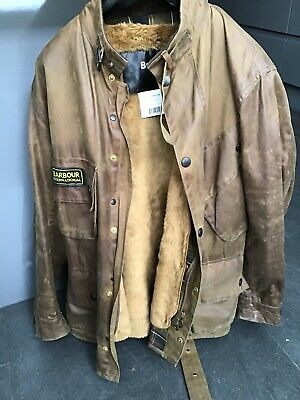 brand quality 2019 best sell differently BARBOUR INTERNATIONAL ORIGINAL Wax Jacket Size Small Xs ...