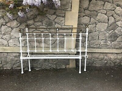 Antique metal framed French Double bed frame  Double size With Irons