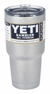 Yeti Rambler Stainless Steel Cup Insulated 30oz Tumbler with Lid