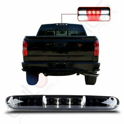 Chrome Housing LED 3rd Brake Tail Light For 2007-2013 Chevy Silverado/GMC Sierra