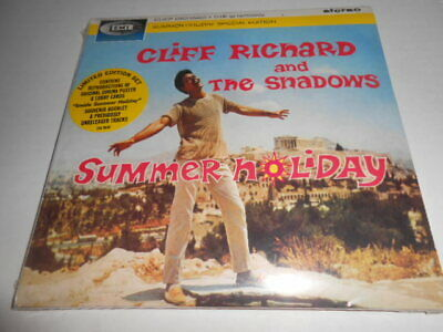 Cliff Richard & The Shadows Summer Holiday Limited Edition Cd W/Poster, SEALED
