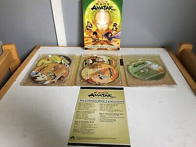 Avatar the last Airbender the complete book 2 collection DVD set