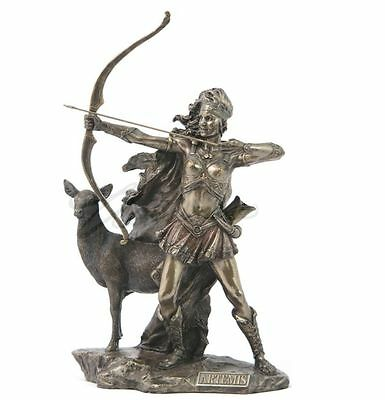 Artemis - The Goddess Of Hunting And Wilderness Statue Figurine Sculpture