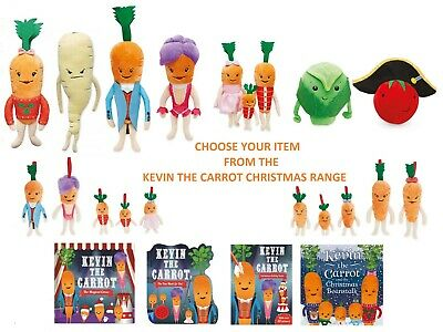 Aldi Kevin The Carrot, Katie, Kids, Russel Sprout, Tiny Tom Or Pascal Soft Toys