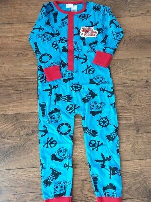 Disney Jake and the Never Land Pirates Boys All in One Sleepwear Age 2-3 Yrs NEW
