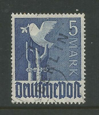 """Germany - West Berlin 1948 Pictorial Issue Good/Fine Used 5 Mark """"Berlin"""" Opt"""