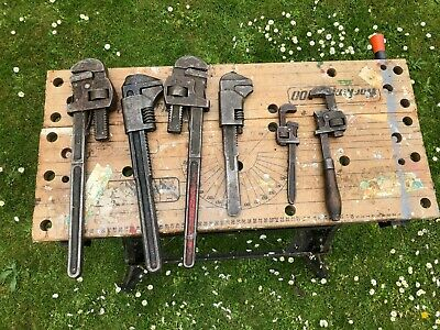 6 x heavy metal wrenches
