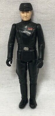 """1980 Vintage Star Wars Imperial Officer Action Figure - 3-1/2"""" tall"""