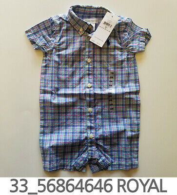 Polo Ralph Lauren Baby Toddler Creeper 3/6/9/12 Months New with Tag #33