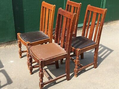Set of 4 Restaurant Dining Chairs (Bar / Cafe / Bistro / Pub Chairs)