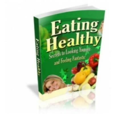 Eating Healthy - Resell Rights 5 bonus ebooks Free Shipping