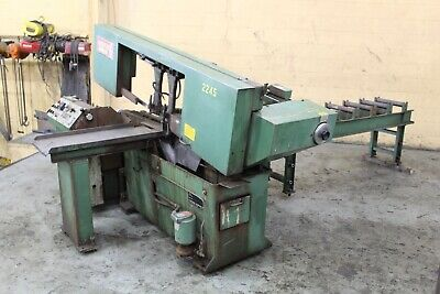 """13"""" X 13"""" Marvel Model #13A Automatic Horizontal Bandsaw: Yoder #71723"""