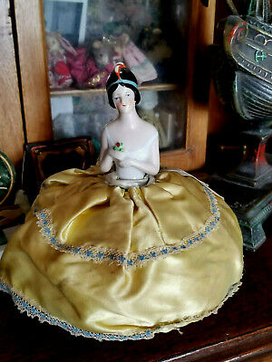 1920's Lady Pin Cushion Half Doll Numbered! BEAUTY!!