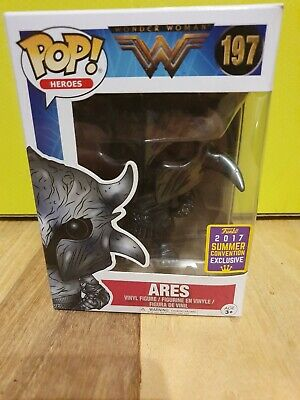 Heroes DC Wonder Woman Figura exclusiva Ares  ... FK12540 SDCC 2017 Funko Pop