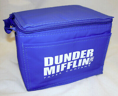 The Office Dunder Mifflin Insulated Lunchbag Official DVD Seaon 1-3 Promo item