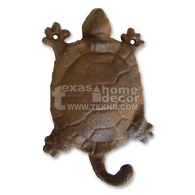 Turtle Wall Hook Cast Iron Towel Holder Key Holder Wall Mounted Nautical Decor