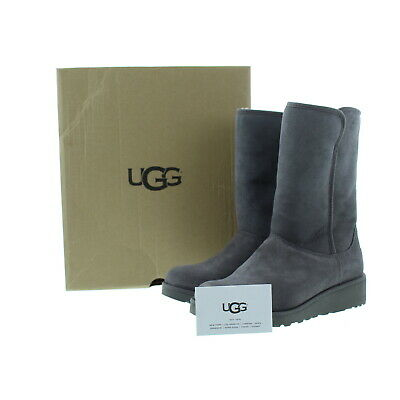 50e37cd8a0b UGG AUSTRALIA UGGS Womens 1013428 Spice Red Amie Slip On Boots ...