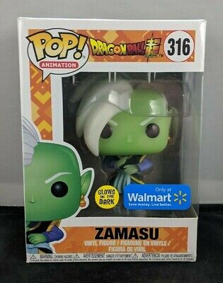 Funko Pop! Animation: Dragon Ball Super - Zamasu GITD (Walmart Exclusive) #316