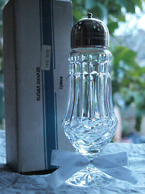 Waterford Crystal Sugar Shaker Muffineer Vintage Mint Made in Ireland