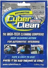 48 Pack Cyber Clean Automotive sachets - 75g/2.65oz x 48 in 4 Retail Boxes.