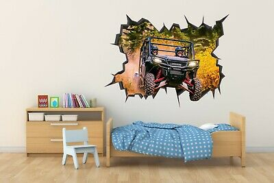 Spider Man Miles Morales Wall Hole 3D Decal Vinyl Sticker Decor Room Smashed