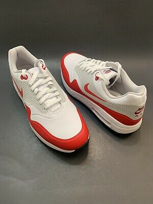 best service ad69c 577be Nike Air Max 1 G  Aq0863 100  Golf Shoes University Red Sz 11