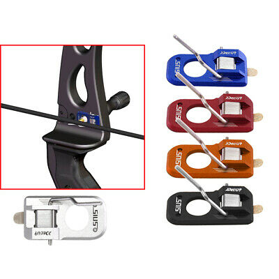 DECUT Archery Magnetic Arrow Rest Metal Left Right Hand for Recurve Bow Hunting