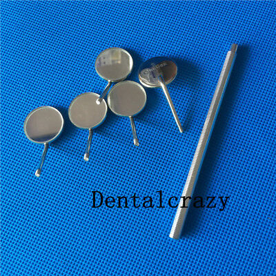 High Quality Dental Mirror Handle with 5 x Mouth Mirror Magnifying No. 5#