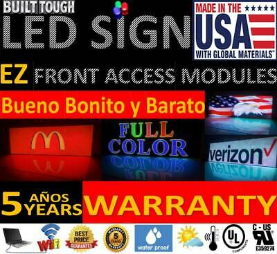 """LED Sign Full Color LED sign with WiFi  6' X 12' """"one Sided"""""""